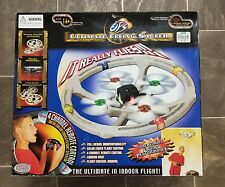 Sealed Wow Wee ultimate flying saucer UFO remote control 4 channel indoor corded