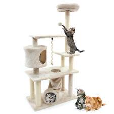 "55"" Cat Tree Condo Scratching Post Sisal Scratcher Furniture Kitten Play House"