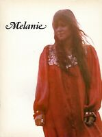 MELANIE SAFKA 1971 BRAND NEW KEY CONCERT TOUR PROGRAM-WOODSTOCK-NEAR MINT 2 MINT