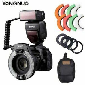 YongNuo YN14EX II Macro Ring Flash Speedlite Light for Canon 5Dsr 5D Mark III 7D