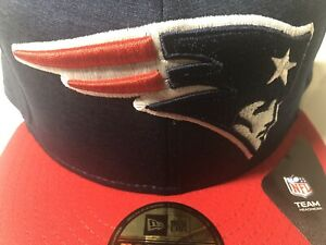 NFL New England Patriots New Era JUMBO Logo Fitted Hat Size 7 7/8 NWT 🔥 🔥 🔥
