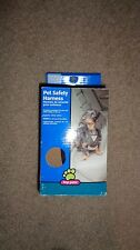 New Top Paw Small Pet Vehicle Safety Harness with Tether 10-25 lbs Brown/Black