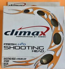 Climax Shooting Head ST 8/9F 450 Grain 35 ft.Floating Fly Line W/Loop
