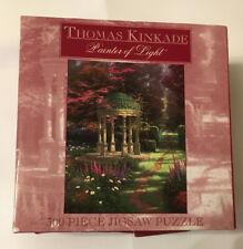 Ceaco Thomas Kinkade  The Garden Of Prayer 300 Piece Puzzle USED