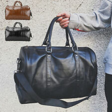 Leather Duffle Large Bag Mens Travel  Sports & Gym Bag Womens Luggage Handbag
