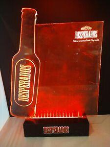 Desperados Light Up Beer Sign Man Cave Home Bar