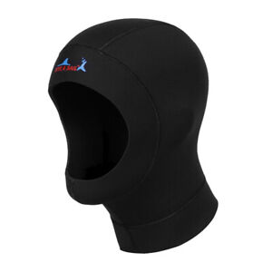 Neoprene Wetsuit Hood for Men Women Youth, Dive Cap Surfing Scuba Diving