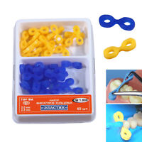 40pc Dental Elastic Rubber Fixing Wedges Matrix Matrices Dam system Composite C4