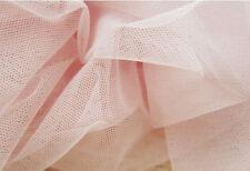 "Lace Fabric Pink Tulle Soft Wedding Fabric DIY Handmade 59"" width 1 yard"
