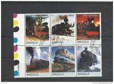 Lokomotiven Angola wunderschöner Zusammendruck