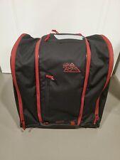 KULKEA SP BOOT SKI BOOT BAG BACKPACK - BLACK/RED SNOWBOARD PRE-OWNED