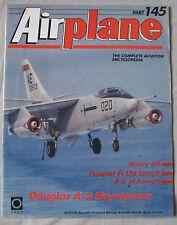 Airplane Issue 145 Douglas A-3 Skywarrior poster, Fieseler Fi 156 Storch cutaway