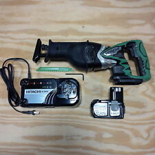 Hitachi CR18DL 18V Cordless Reciprocating Saw, EBM1830 Battery, Charger 18 Volt