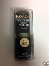 Revlon Colorstay Stick Makeup Oil-Free ( #04 SAND BEIGE ) Foundation Stick NEW.