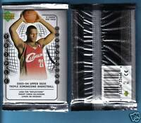 2003 - 04 Upper Deck Triple Dimensions Basketball Pack (x1) Lebron James RC Year