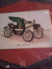 1901 Fiat model 8 Wooden Decorative Display Plaque super cool wall art wow plack