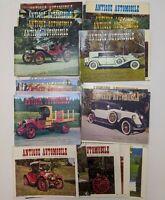 Lot of 30 Vintage 1980s ANTIQUE AUTOMOBILE Club Magazines Classic Cars 1980-84