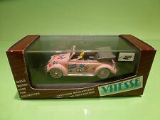 VITESSE 412 VOLKSWAGEN KAFER 1949 - HIPPY MAKE LOVE 1:43 - RARE SELTEN - NMIB