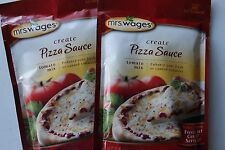 2 Pack Mrs. Wages Pizza Sauce Tomato Mix (5-Ounce Package) Fresh Tomato Canning