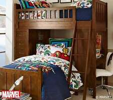 Pottery Barn Kids Marvel Quilted Bedding Set Quilt in Twin Std & Euro Shams New