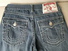 TRUE RELIGION * JOEY SUPER T * WORLD TOUR STRAIGHT LEG JEANS // 34