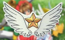 Cardcaptor Sakura Clow Wings Star Angel Anime Embroidered Iron-on Patch