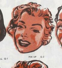 Rare 1950s MARILYN MONROE Pin-Up KEITH WARD Topstone Rubber Mask