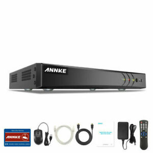 ANNKE 8CH H.265 5IN1 4K Video 8MP DVR for CCTV Home Security System Remote UK