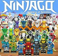Ninjago Season 12 NEW Custom Set 32 Minfigures Lot - USA SELLER