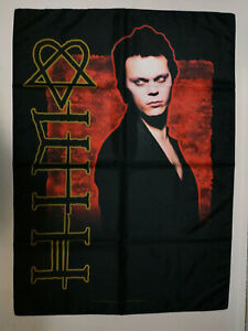 Vintage  HIM  Unused  2006 TEXTILE POSTER FLAG      ville valo band