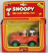 "NIB 1975 Aviva ""Snoopy's Family Car"" Die Cast Metal Toy"
