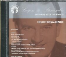 Helge Roswaenge: The Dane with the High D (CD, May-2002, Dutton Laboratories)