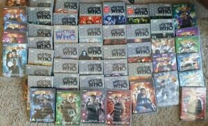 48 x Doctor (Dr) Who DVD Collection from 1966-89 & S1-s4 Job Lot BBC FREE POST