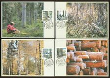 Below face J94 Sweden 4 Maximum cards 2000 The Forest Birds Animals Nature