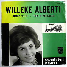 WILLEKE ALBERTI 45 Toen Je Me Kuste VG++ Then He Kissed Me TEEN Dutch 1963 e3585