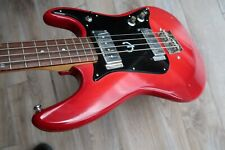 1974 Epiphone ET 289 Bass Japan Cherry 2 pickups rosewood Plays sounds excellent