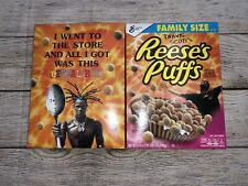 Lot Of 2 Limited Travis Scott x Reeses Puffs Cereal Family Sized Sold Out Rare