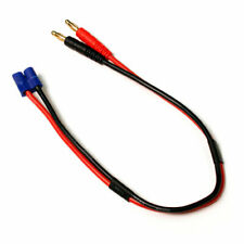 EC3 Plug to 4mm Banana Plugs Battery Charge Lead Adapter Cable by Venom