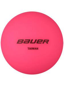 Balle Bauer rose Street Hockey