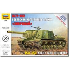Zvezda 5026 soviétique Tank Destroyer ISU-152 1/72 ème 04899 Revell snap fit modèle kit