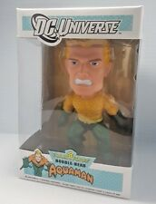 AQUAMAN DC Universe Funko Force pop Bobble Head figure toy statue VHTF RARE NEW