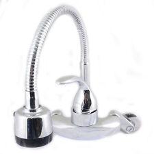 Kitchen Cobra faucet Taps Chrome wall mount sink faucet 2-function cobra H-3