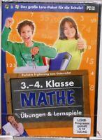 Software für die Schule + Lern-Paket Mathematik + 3.-4.Klasse + Nachhilfe #M25