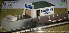 K-LINE OPERATING DAIRYMEN'S LEAGUE MILK LOADING DEPOT FOR LIONEL MTH LOADER