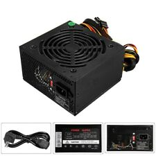 Max 500W Rated 350W Computer Gaming Power Supply PSU PFC 24pin Sata For ATX PC