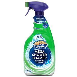 Scrubbing Bubbles Bathroom Mega Shower Foamer Spray, Rainshower, 32 OZ SET OF 2