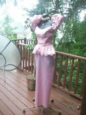 VINTAGE 80'S PINK PROM PARTY DRESS
