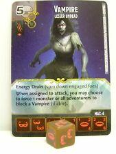 D & D dice Masters - #058 vampiros-Lesser Teleadicta-Battle for Faerun