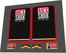 ROCKSHOX Judy SL 1997 Fork Sticker / Decal Set