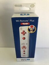 Brand New OEM Nintendo Wii U Wii Remote Plus Toad Official Controller